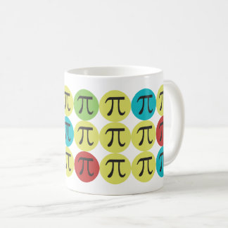 Mod Pi  - Colorful Pi Gift Coffee Mug