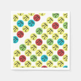 Mod Pi - Happy Pi Day Party Supplies Napkin