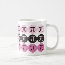 Mod Pi  - Pink Pi Gift Mug