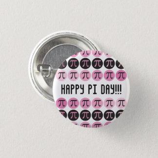 Mod Pi  - Pink Pi Pinback Button