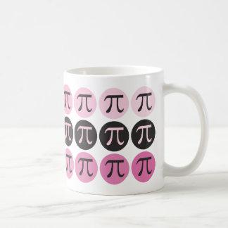 MOD pi - Regalo rosado del pi Taza De Café