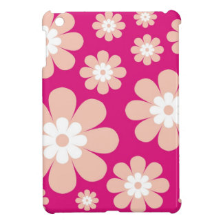 Mod Pink Flowers Case For The iPad Mini