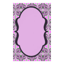 Mod Pink Mauve Pattern Flyer