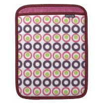 Mod Pink Olives Pattern Electronics Sleeve
