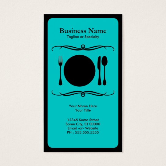 mod place setting business card