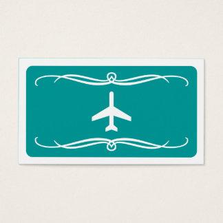 mod plane (color customizable) business card