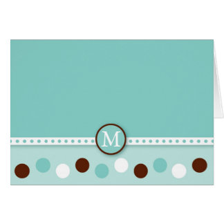 Mod Polka Dots Thank You Note Cards Personalized