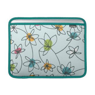 Mod Pop Flower Macbook Sleeve