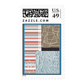 Mod Postage Stamps
