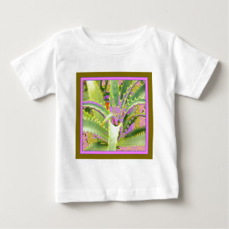 Mod Purple-Pink-Green Agave Gifts Baby T-Shirt