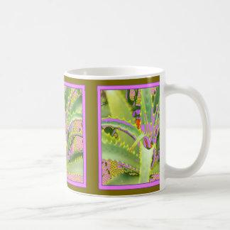 Mod Purple-Pink-Green Agave Gifts Coffee Mug