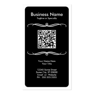mod QR code Double-Sided Standard Business Cards (Pack Of 100)