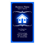 mod real estate Double-Sided standard business cards (Pack of 100)