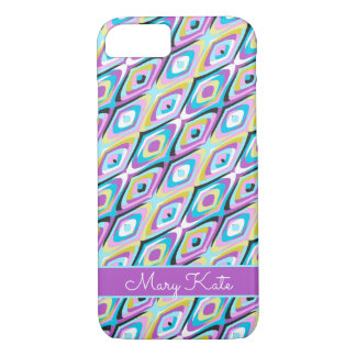 Mod retro 60's Inspired cats eye design iPhone 8/7 Case