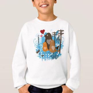 Mod Retro Birds Sweatshirt
