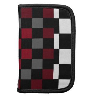Mod Retro Hipster Checkerboard Planner