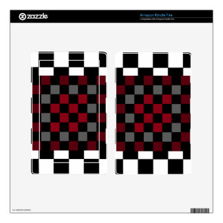 Mod Retro Hipster Checkerboard Skins For Kindle Fire