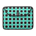 MOD Retro Pattern in Teal Sleeve For MacBooks
