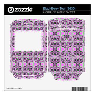 mod retro pink pattern skins for BlackBerry tour
