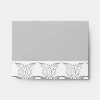 Mod Rings Simple Modern Geometric Pattern Envelope
