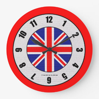 Mod Rocker Large Wall Clock