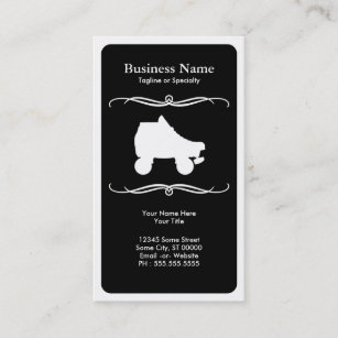 Roller skating business cards templates zazzle mod roller skate business card colourmoves