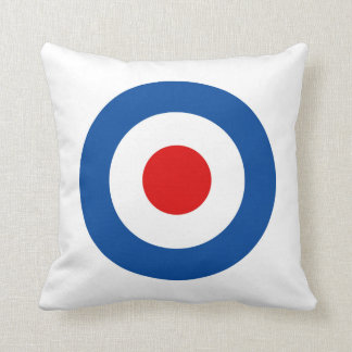 "Mod Roundel 16"" x 16"" Throw Pillow"