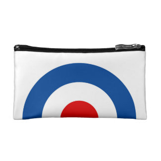 Mod Roundel Cosmetic Bag. Cosmetic Bag