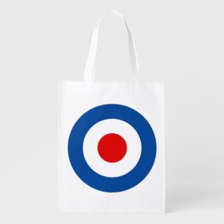 Mod Roundel Reusable Grocery Bag