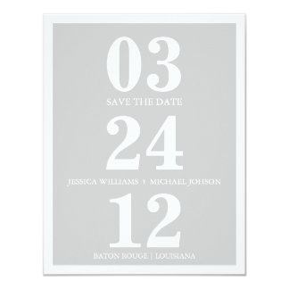 Mod Save the Date Card
