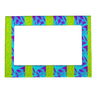Mod Scribble Stripe Magnetic Fridge Photo Frame