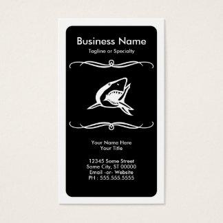 mod shark business card