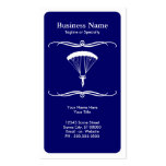 mod skydiving business card template