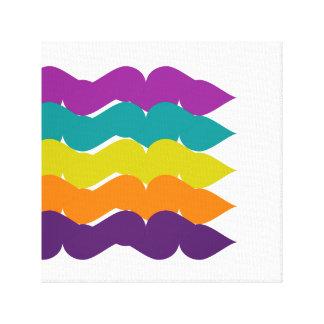 Mod Snake Wave Canvas Print