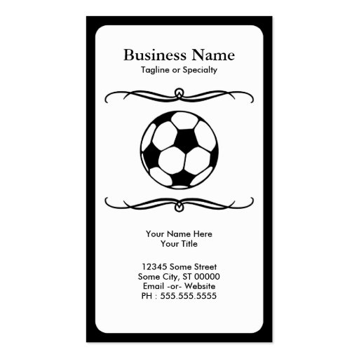 mod soccer business cards