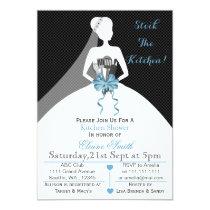 Mod stock the kitchen Bridal shower Invite