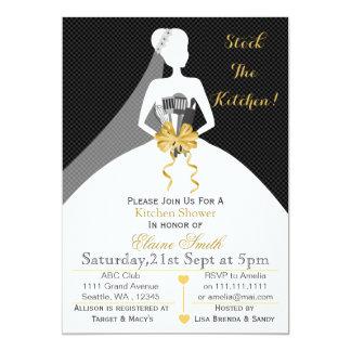 Kitchen party invitations announcements zazzle mod stock the kitchen bridal shower invite stopboris Image collections