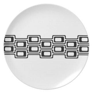 Mod Strip, Dinner/Party Plate