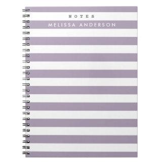 Mod Stripes Notebook