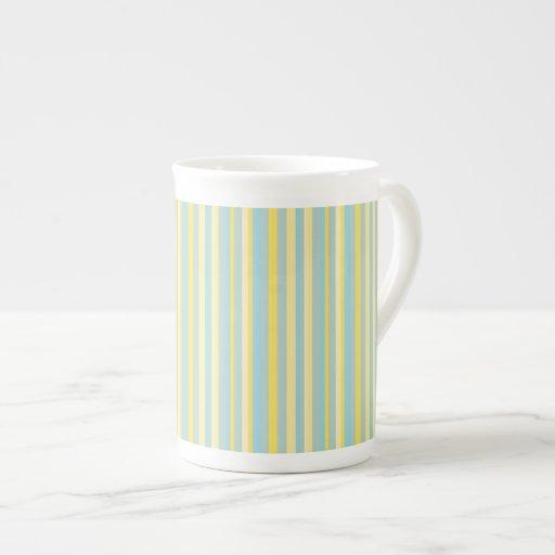 Mod Stripes Bone China Mug