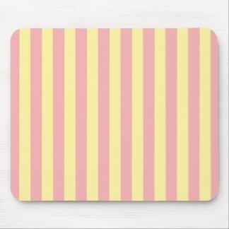Mod-Stripes_Stripes_Peach-Yellow_Home-Work-Decor Mouse Pad