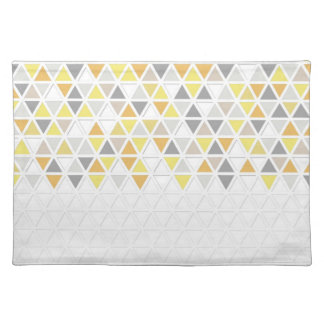 Mod Style Triangle Pattern Triangular Geometric Cloth Placemat