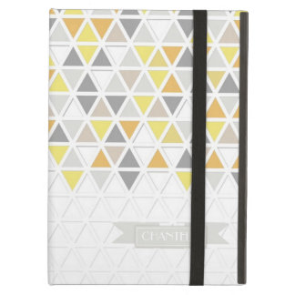 Mod Style Triangle Pattern Triangular Geometric iPad Air Covers