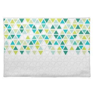 Mod Style Triangle Pattern Triangular Geometric Placemat