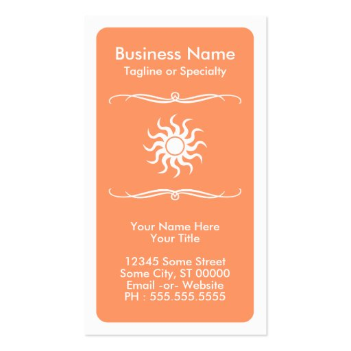 mod sun loyalty card business card template