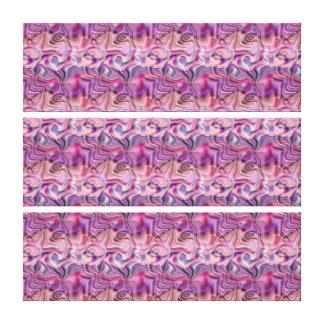 Mod Swirl Canvas Print