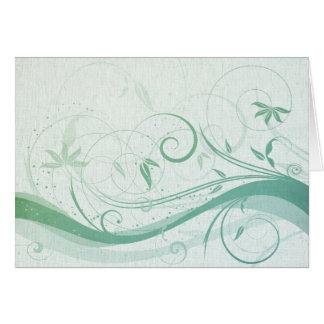 Mod Swirls and Curls Card