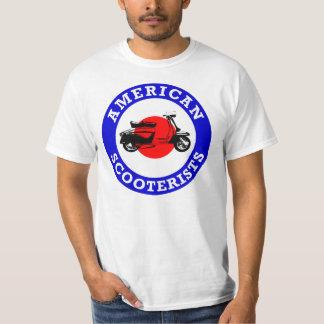 Mod Target - American Scooterists T-Shirt