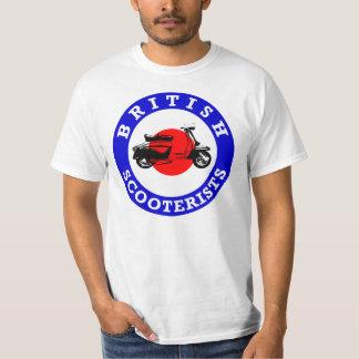 Mod Target - British Scooterists T-Shirt