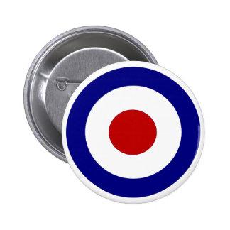 Mod Target Pinback Button